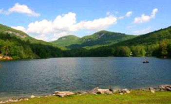 Even though Merry can find your Cashiers homes for sale, she can also find your Lake Toxaway and Lake Cardinal land (pictured here). Lake Glenville, Sapphire, Highlands and more.